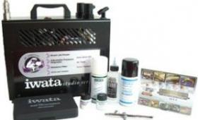 Iwata Medea airbrush compressor